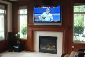 Woodinville Large Screen TV Home Theater Installation